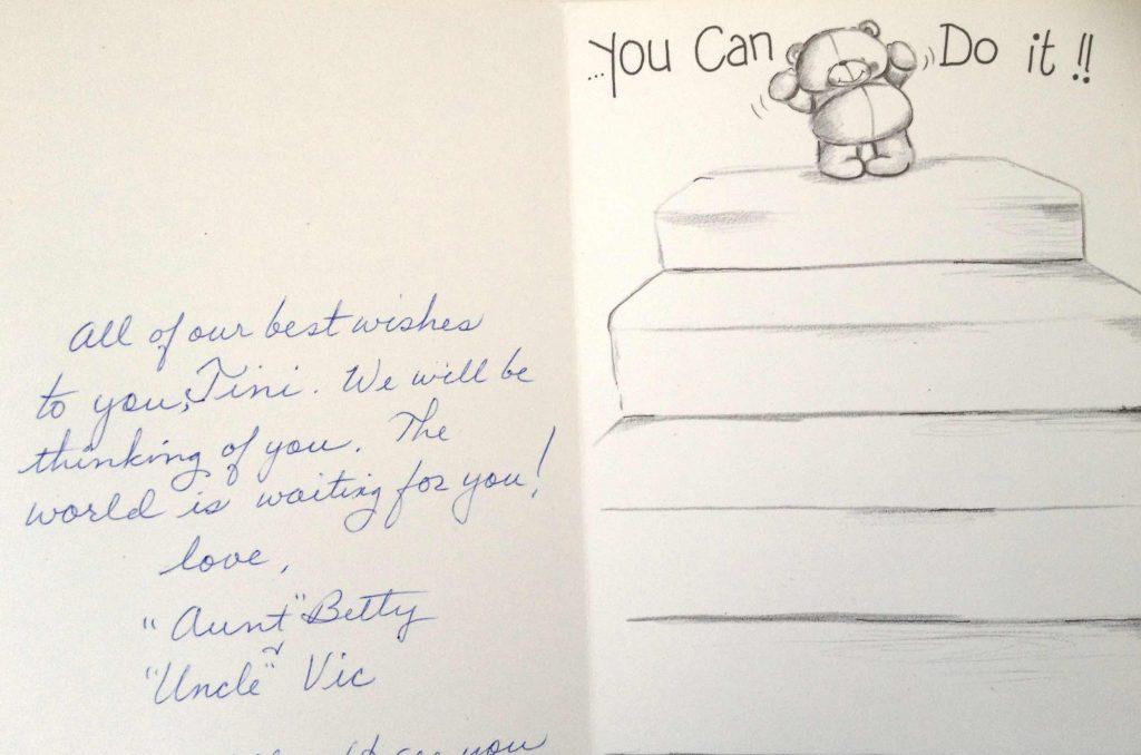 Postkarte aus den USA: Das Leben liegt vor dir!