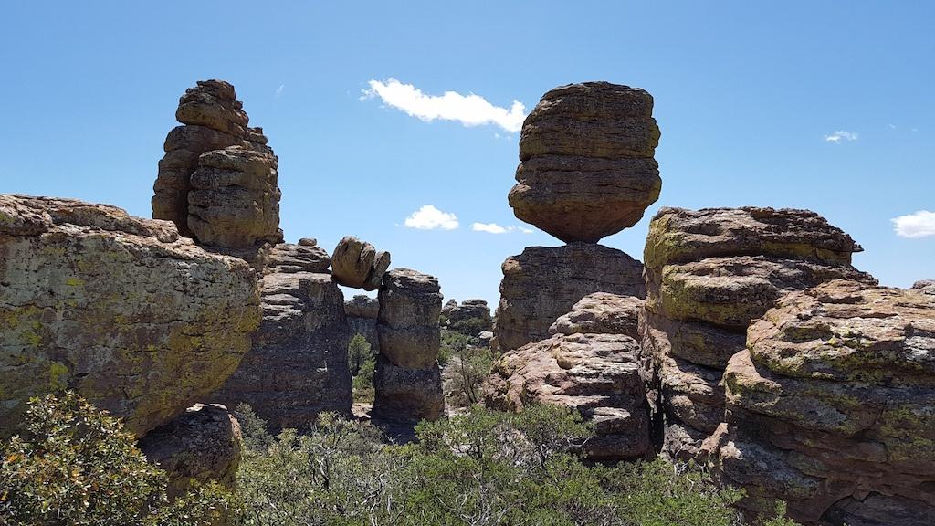 'Big Balanced Rock' at Chiricahua National Monument