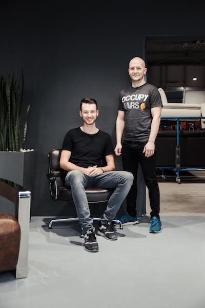 Paul Jonas und Jonas Brenig, Gründer und CEOs von Revive Interior