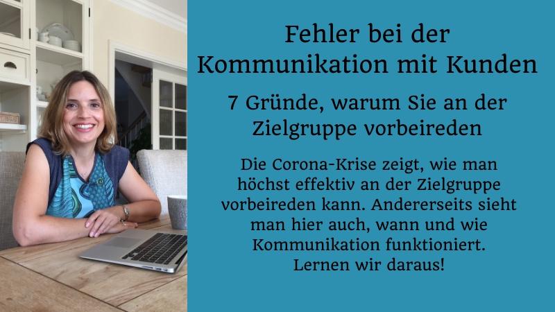 Blogartikel Christine Piontek: Fehler bei der Kommunikation mit Kunden. 7 verflixte Gründe, warum Sie an der Zielgruppe vorbeireden